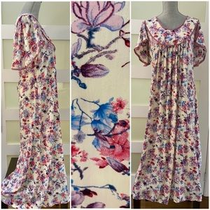 Long Floral Nightgown